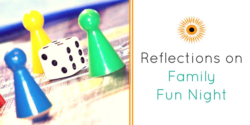 Family Fun Night blog