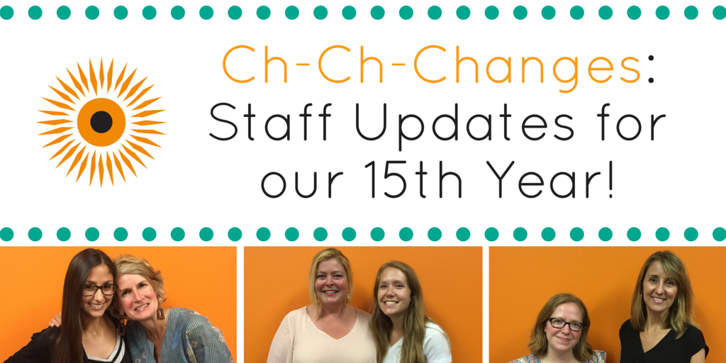 Staff Updates 15 year