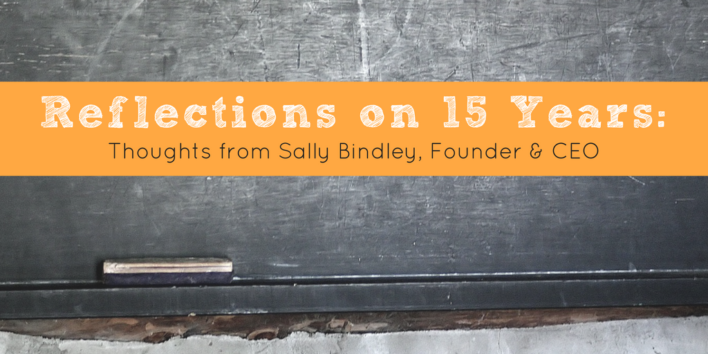 Reflections on 15 Years Sally blog