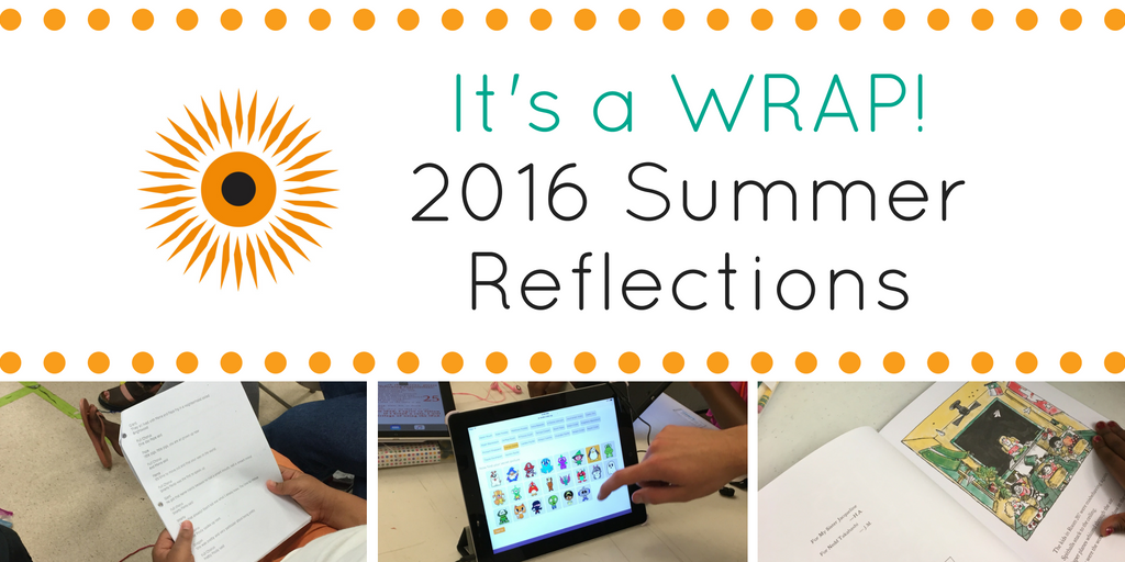 Summer 2016 Blog Title