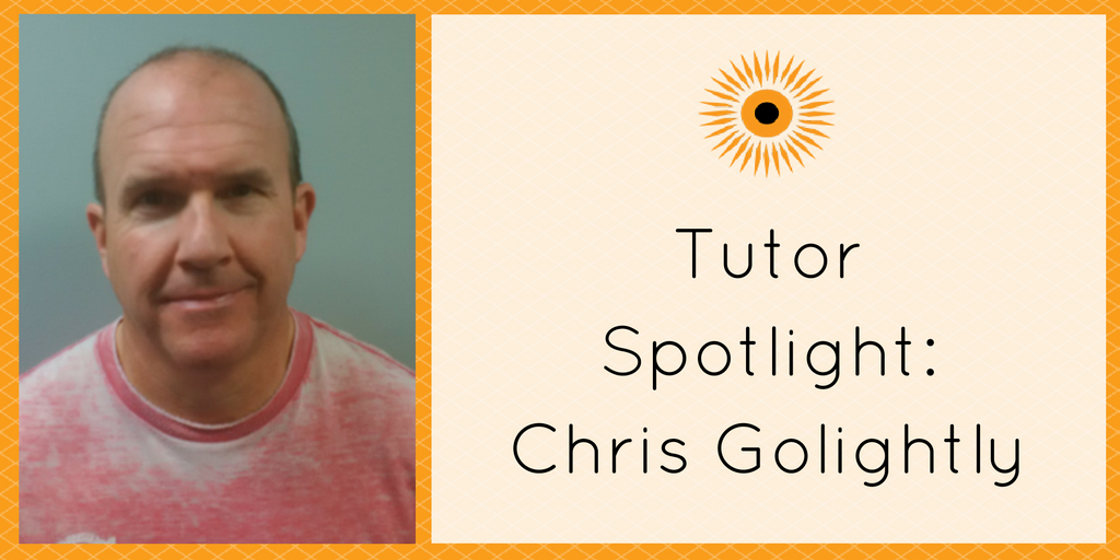 Tutor Spotlight- Chris Golightly
