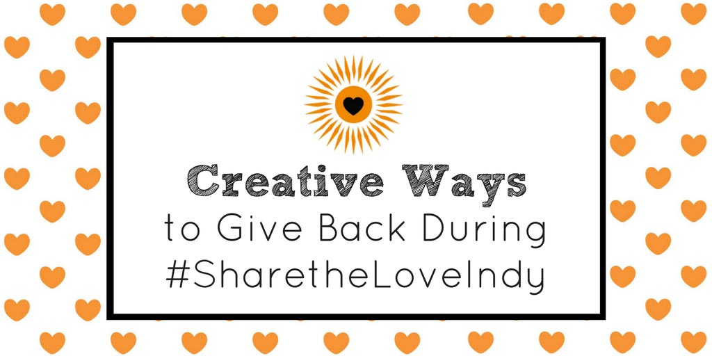 Creative Ways to Give Back During