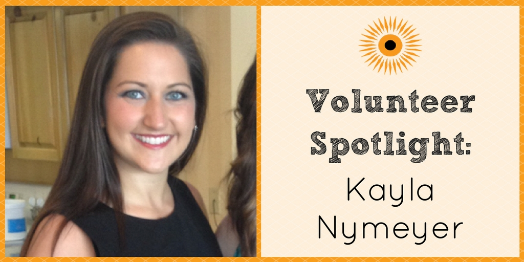 Volunteer Spotlight- Kayla