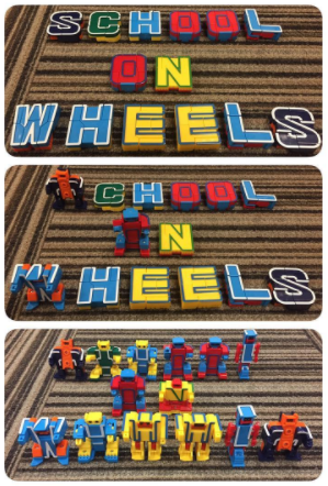 alphabots school on wheels
