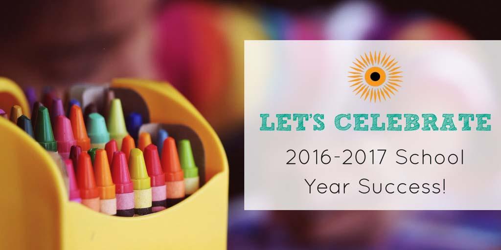 2016-2017 school year success