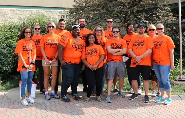 RUM zoo volunteers