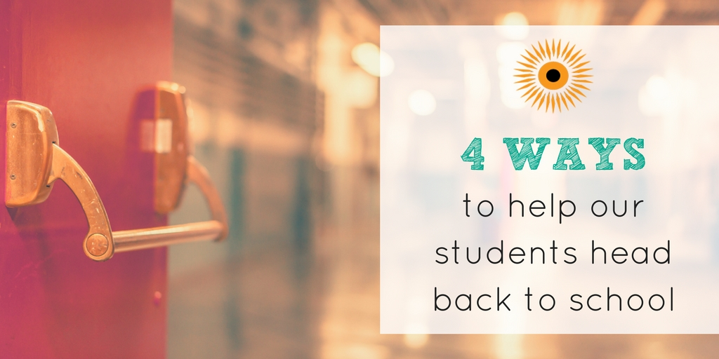4 ways to help students back to school