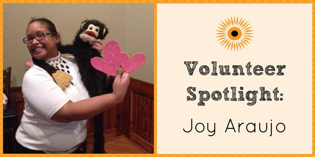Volunteer Spotlight- Joy